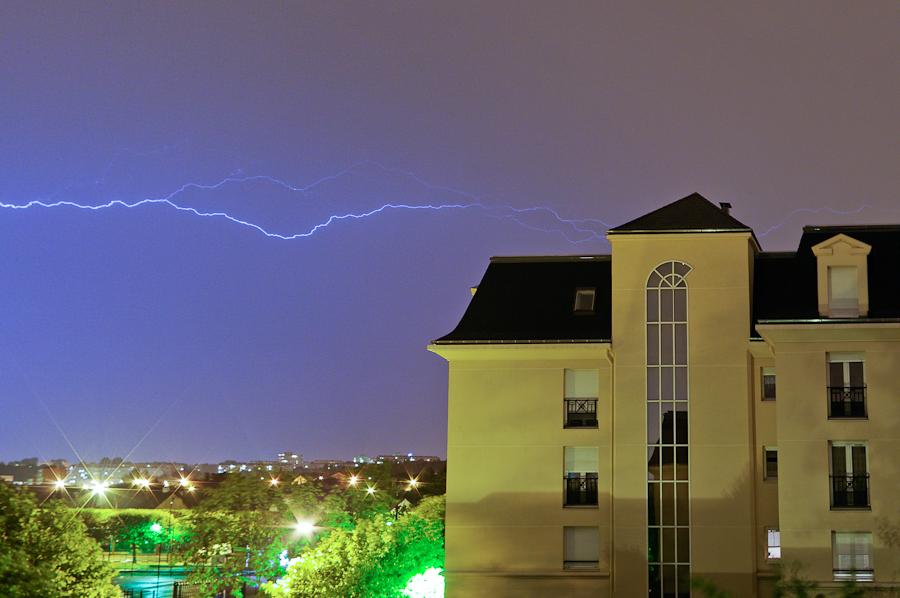 Ma première tempête !